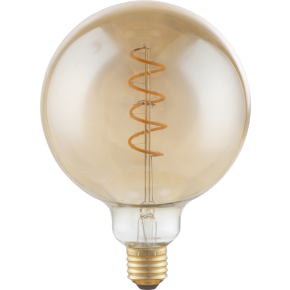 AMBER E27 Globe Dimmable LED Bulb 11404F