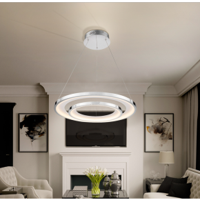 Taal Double Ring Pendant Dimmable