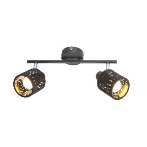 TROY Black Wall Light 54121-2