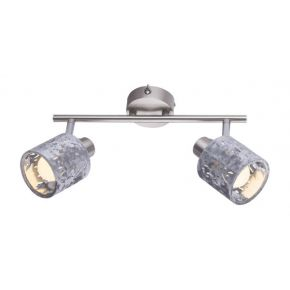 ALYS Silver Wall Light 54122-2