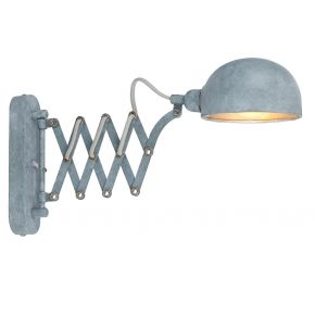 MIRAM Industrial Grey Wall Light 58308W1