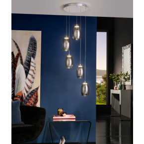 Nelson 5 Light Pendant