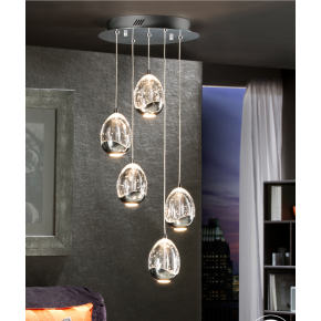 Bimby 5 Light Pendant Dimmable