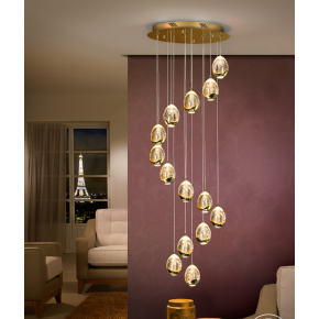Bimby 14 Light Pendant Dimmable Gold