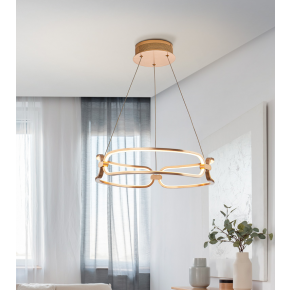 Laguna Small Pendant Brushed Gold