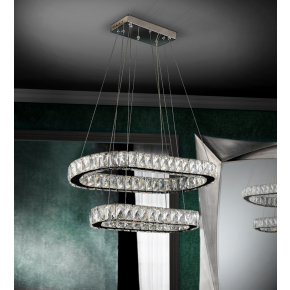 Kita Double Ring LED Pendant Dimmable