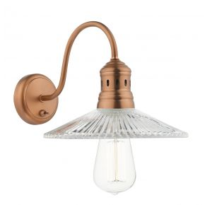Adeline 1 Light Wall Light Brushed Copper