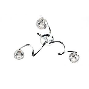 Babylon 3 Light Semi Flush Polished Chrome