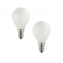 OPAL E14 Golf Ball 2-Pack of LED Bulbs 10589-2O
