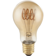 AMBER E27 GLS Dimmable LED Bulb 11403F
