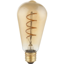 AMBER E27 Decorative Dimmable LED Bulb 11405F