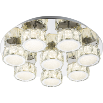 AMUR Crystal Ceiling Light 49350D5