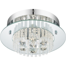 ELENA Crystal Ceiling Light 49361