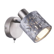 ALYS Silver Wall Light 54122-1