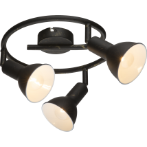 NAMUS Black Ceiling Light 54649-3