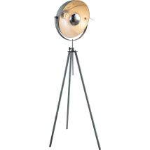 MIRAM Industrial Grey Floor Lamp 58308