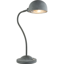 MIRAM Industrial Grey Table Lamp 58308T