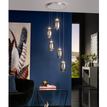 Nelson 5 Light Pendant Dimmable
