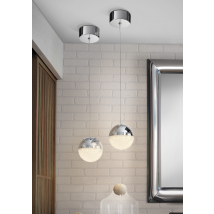 Bellini Single Pendant Chrome