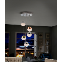 Bellini 5 Light Pendant Dimmable