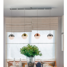 Bellini 5 Light Bar Pendant Dimmable