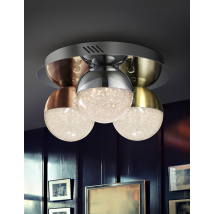 Bellini 3 Light Flush Dimmable